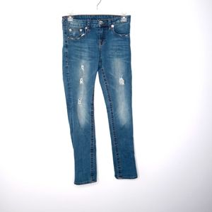 True Religion girls size 14 distressed jeans